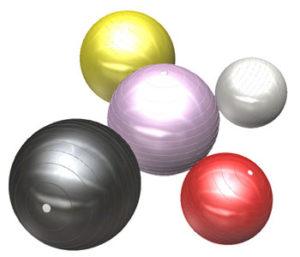 リボーンマイセルフでのダイエットトレーニングではバランスボールも使います